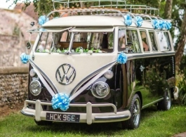VW Wedding Campervan hire in Southsea
